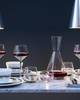 LSA Space range of glassware