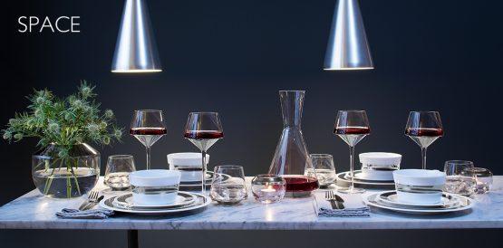 LSA Space range of glassware