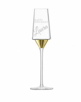 Engraved lsa space champagne